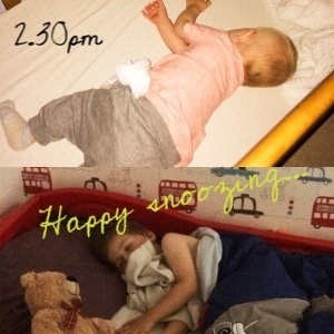 2.30pm - two sleeping boys = happy mummy