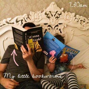 7.30am - Early morning bookworms!